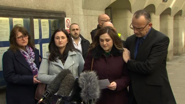 Presser Katie Brown Charlotte Brown's sister speaks outside the Old Bailey where convicted speedboat killer Jack Shepherd appeared 'His lack of...