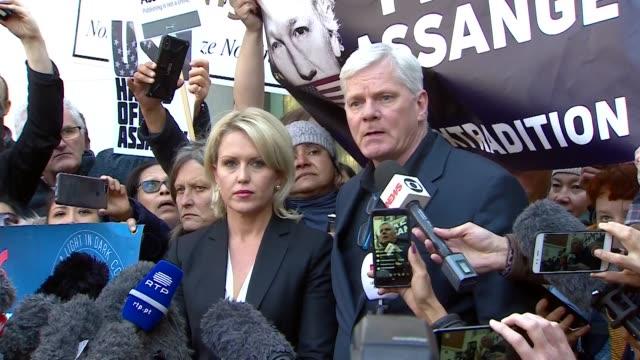 Presser Kristinn Hrafnsson Editor in Chief Wikileaks speaks about the arrest of Wikileaks founder Julian Assange