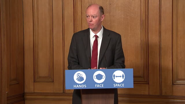 presser professor chris whitty, chief medical officer for england, not confident the tier 3 coronavirus restrictions will be successful for the... - instructions stock videos & royalty-free footage