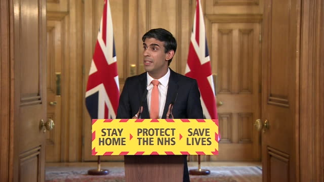 presser rishi sunak chancellor about protecting jobs during coronavirus crisis i can't promise that i can protect every single job business or charity - transparent stock videos & royalty-free footage
