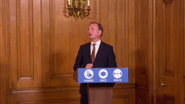 "presser sir simon stevens, ceo nhs england, about pfizer coronavirus vaccine being given to care home residents ""as soon as we get sign off that we... - representing stock videos & royalty-free footage"