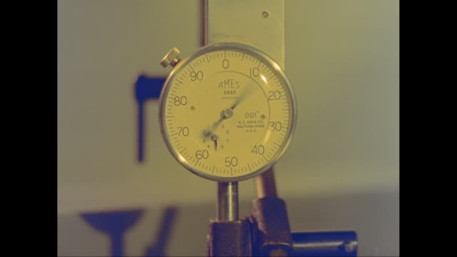 CU Pressure gauge in factory / United States