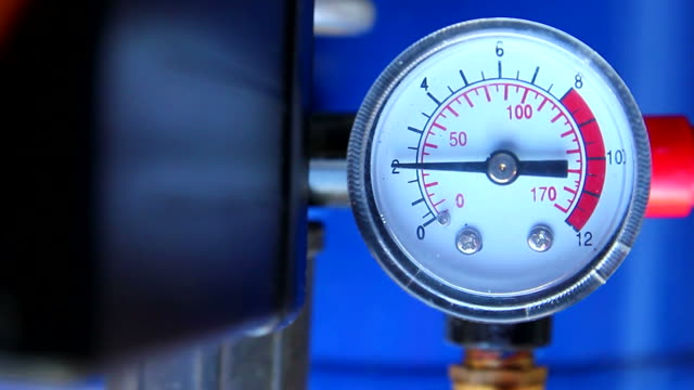 pressure gauge in factory - measuring stock videos & royalty-free footage