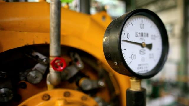 圧力計、傾斜シフトレンズ - 空気弁点の映像素材/bロール