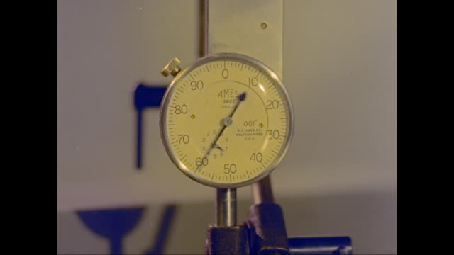 CU Pressure gauge / United States