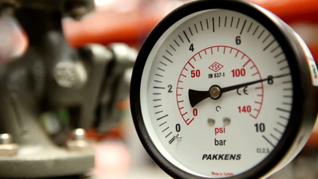 pressure gauge - physical pressure stock videos & royalty-free footage