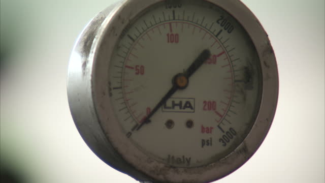 CU Pressure gauge