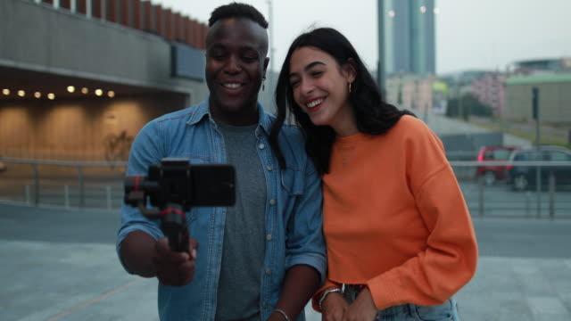 Pretty Couple Making Vlog