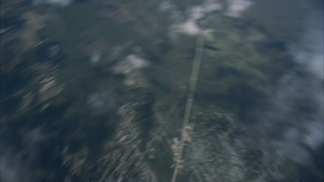 pretty female skydiver in free fall - airplane part stock videos and b-roll footage