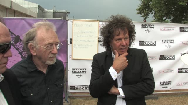 Pretty Things Phil May Dick Taylor and Frank Holland on being at the festival and how the live performance is becoming more important at the Hard...