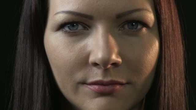 Pretty woman's portrait