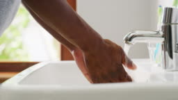 Prevent germs by washing your hands
