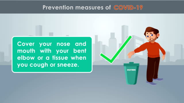 prevention measures of new coronavirus - prevention stock videos & royalty-free footage