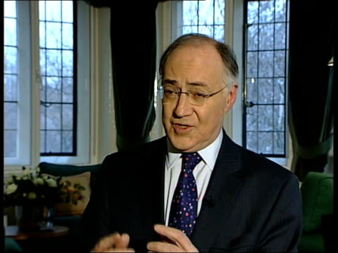 Parliamentary struggle continues ENGLAND London INT Michael Howard MP interview SOT We all recognise the need to fight terrorism the question is how/...