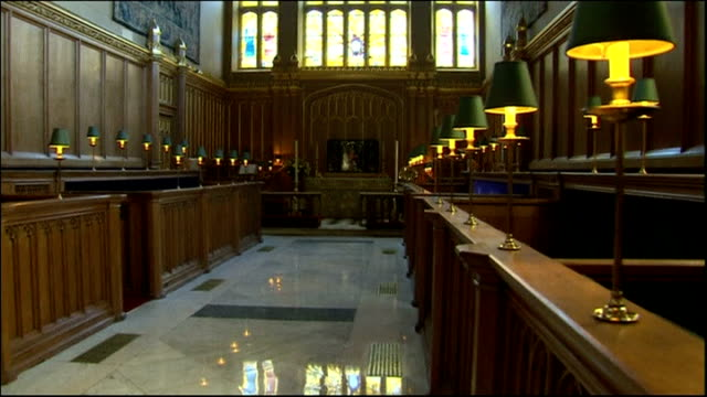 Preview of christening of Prince George of Cambridge File / Recent St James' Palace Chapel Royal Interior of Chapel Royal