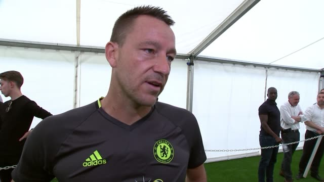 Preview of FA Cup Final between Arsenal and Chelsea 2452017 INT John Terry interview SOT Fully focussed on winning the game first and foremost / it's...