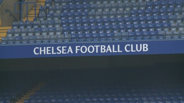 chelsea training england london stamford bridge ext various of chelsea fc team training at an open training session watched by new manager antonio... - チェルシーfc点の映像素材/bロール