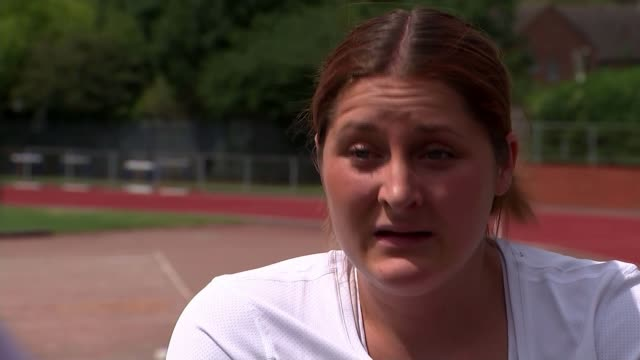Preview of World Para Athletics championships in London Location unknown EXT Kylie Grimes interview SOT Various Grimes chatting to reporter Kylie...