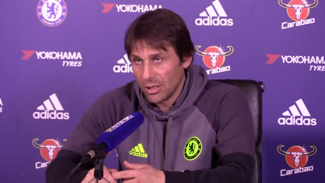 Preview press conference with Antonio Conte as Premier League leaders Chelsea travel to Goodison Park to take on Everton on Sunday