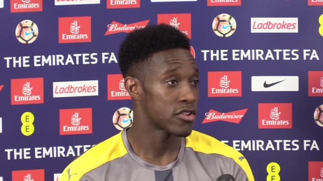 Preview press conference with Arsenal player Danny Welbeck ahead of their FA Cup final clash with Chelsea