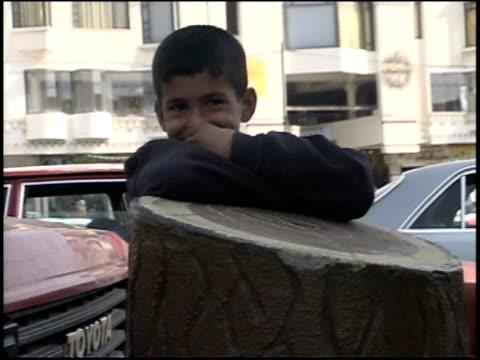 Prewar Iraq / WS MS Street scenes / Iraq