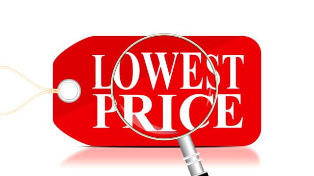 vídeos de stock, filmes e b-roll de pricetag/pesquisa de menor preço - brincadeira de pegar
