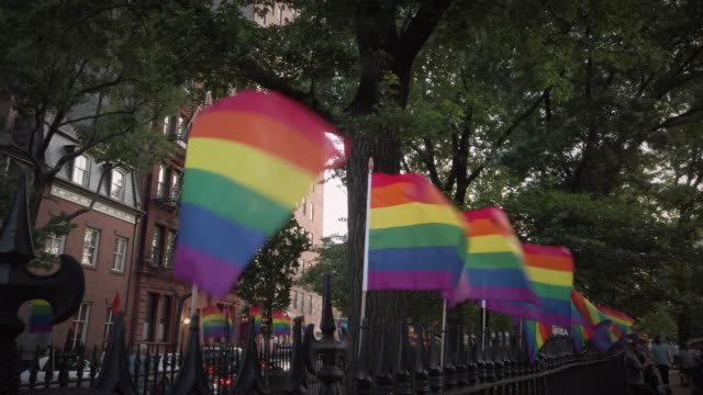 pride month new york city - month stock videos & royalty-free footage