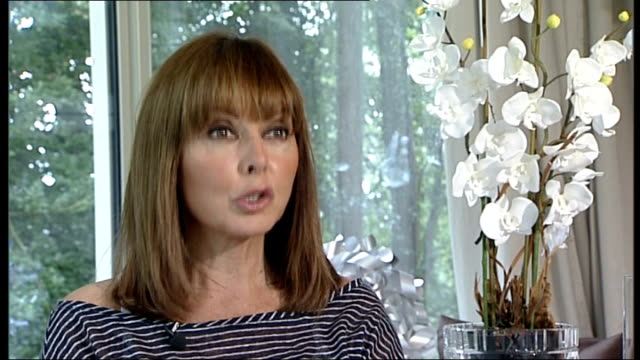 pride of britain awards 2011: local hero award launched; carole voderman interview sot - carol vorderman stock videos & royalty-free footage