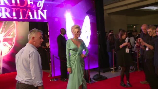 celebrity arrivals and interviews more adams interview sot / adams posing outside pride of britain awards / pixie lott into awards / fleur east... - ainsley harriott stock videos & royalty-free footage