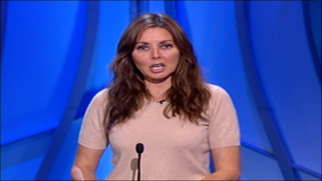pride of britain awards preview; england: int carol vorderman 2-way interview sot - impact of the pride of britain awards / special qualities looked... - carol vorderman stock videos & royalty-free footage
