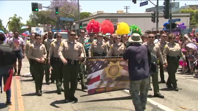 a pride parade - west hollywood california stock videos & royalty-free footage