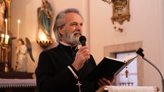priest - priest stock videos & royalty-free footage