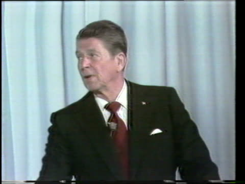 primary debate sponsored by the league of woman voters between ronald reagan and george w h bush moderated by howard k smith / reagan and bush... - recession stock videos & royalty-free footage