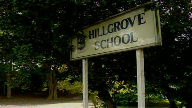 Primary school bans football boots LIB Bangor Hillgrove School General views of school