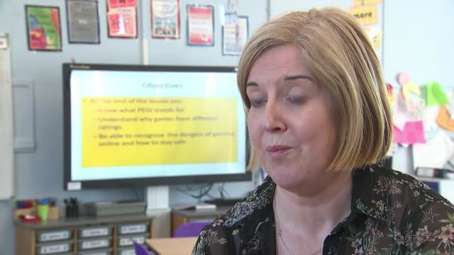 primary school pupils to have lessons in health and relationships in curriculum shake up uk beverley hartley and damian hinds mp interviews... - damian hinds stock videos and b-roll footage