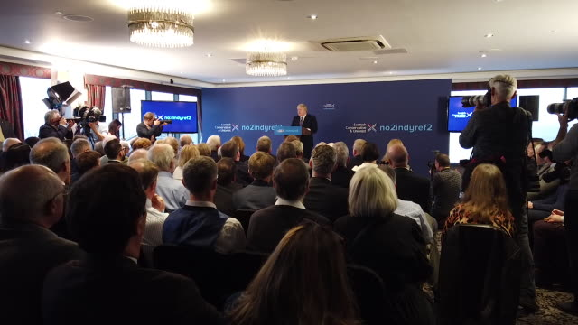 GBR: Boris Johnson Launches The Conservative's Scottish Manifesto
