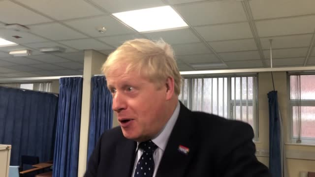 prime minister boris johnson answers questions on the government's pledge to invest in hospitals, brexit and his dealings with jennifer arcuri during... - prime minister's questions stock videos & royalty-free footage