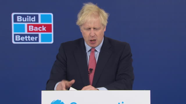 """prime minister boris johnson dismissing concerns he'd """"lost his mojo"""" after contracting coronavirus as """"self-evident drivel"""" - boris johnson stock videos & royalty-free footage"""