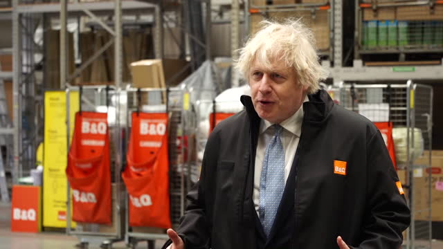 prime minister boris johnson saying coronavirus has shown the uk needs strong domestic industry and that he believes liberty steel can be saved - solutions stock videos & royalty-free footage