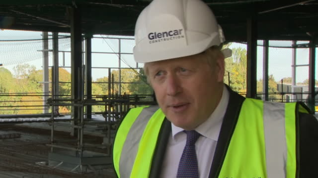 prime minister boris johnson saying the government are looking at further restrictions that can be imposed as a second coronavirus wave approaches - helmet stock videos & royalty-free footage