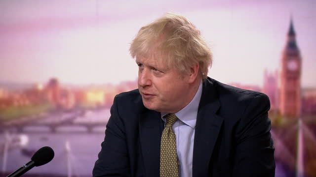 prime minister boris johnson saying the government needs to make sure tier 4 coronavirus restrictions are working - confidence stock videos & royalty-free footage