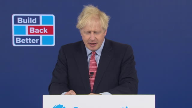 """prime minister boris johnson saying """"we've lost too much and mourned too many"""" to go """"back to normal"""" during the coronavirus crisis - lost stock videos & royalty-free footage"""