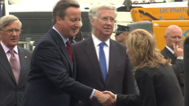 Prime Minister David Cameron officially opened the Farnborough International Airshow The biggest airshow in the world kicked off today with a...