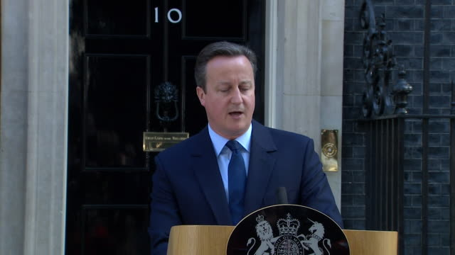 prime minister david cameron saying britain can survive outside the eu and that he will do everything he can to help the uk succeed - david cameron politician stock videos & royalty-free footage