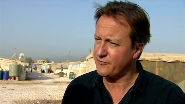 Prime Minister David Cameron talks about British help to Syrian refugees The Prime Minister has visited a refugee camp in the Bekaa Valley Lebanon to...