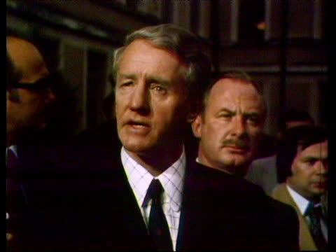 Prime Minister Ian Smith comments on political processes in Rhodesia 1970s