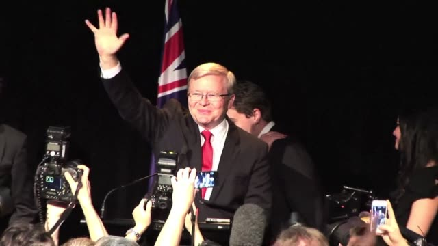 Prime Minister Kevin Rudd on Saturday conceded defeat to conservative challenger Tony Abbott in Australian elections and said he will step down as...