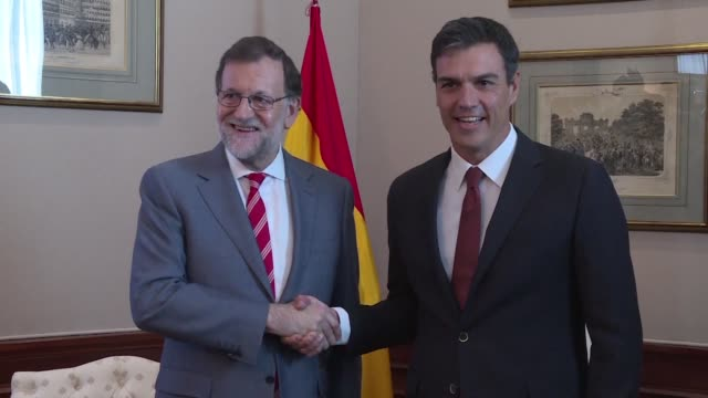 Prime Minister Mariano Rajoy meets Wednesday with the leader of the Socialist Party Pedro Sanchez for discussions on forming a new government after...