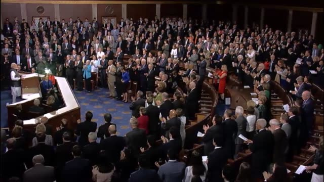 Prime Minister of India Narendra Modi tells a joint meeting of the United States Congress that diversity in perspectives between the two nations can...