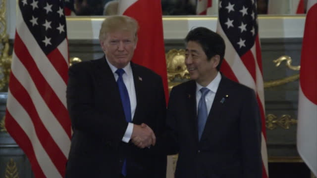 Prime Minister Shinzo Abe and President Trump have held their 5th summit meeting at the State Guest House in Tokyo While the threat from North...